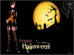 Hallowen, Internetowa, Gra, MissFashion